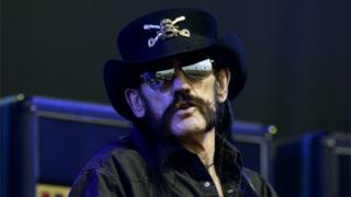 Lemmy at the Glastonbury Festival in 2015
