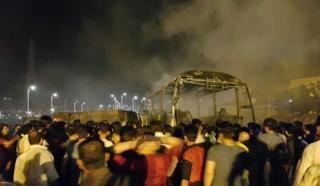 عکس خبرگزاری فارس از تصادف سنندج