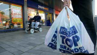Poundworld in Blyth, Northumberland