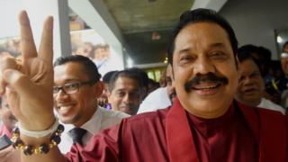 இலங்கையின் முன்னாள் ஜனாதிபதி மஹிந்த ராஜபக்ஷ