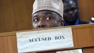 Saraki in court