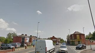 Ashton Road in Oldham