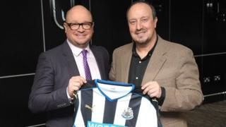 Newcastle United announce the appointment of Rafa Benitez as the Club's new manager.