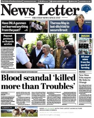 NI newspaper review: Abuse victims and a family drug addiction