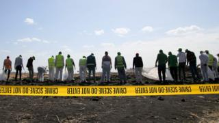 Site of the Ethiopian Airlines crash