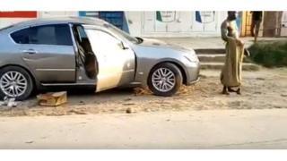 Kenya car thief
