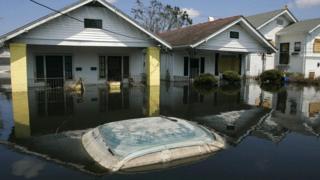 Повені, спричинені ураганом Катріна
