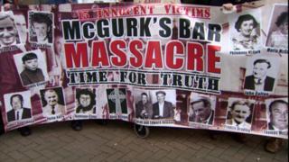 McGurk's bombing banner