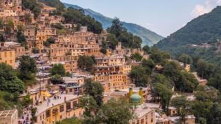 قرية ماسولة الإيرانية