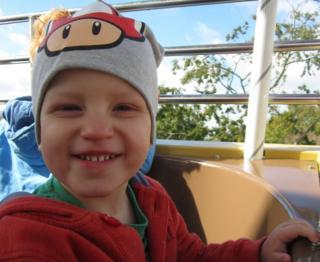 Dylan smiling