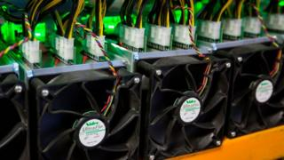 Bitcoin mining machines