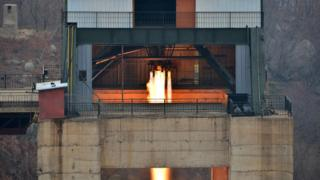 朝鲜测试发动机(19/3/2017)