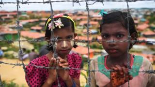 ဘင်္ဂလားဒေ့ရှ်ဒုက္ခသည်စခန်းက ရိုဟင်ဂျာမိန်းကလေးငယ် ၂ ဦး