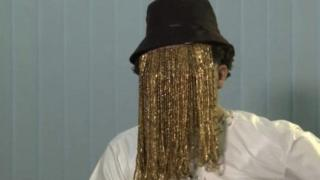 Anas Aremeyaw Anas wear mask cover face
