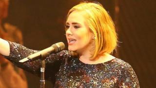 Adele heads Down Under