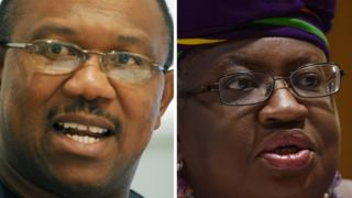 Peter Obi na Okonjo-Iweala