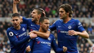 Àwọn agbábọ́ọ̀lù Chelsea