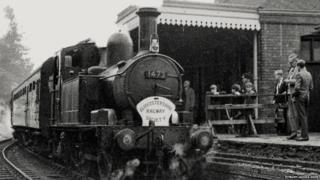Tetbury Station