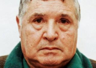 """Toto"" Riina in his 1993 police mugshot"