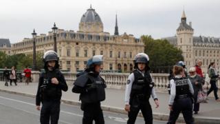 Полиция оцепила место происшествия