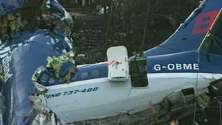 Kegworth tragedy, image of plane crash