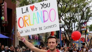 Desfile gay de Los Ángeles.