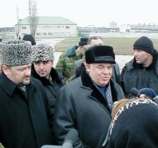 Чечня, Кадыров, Алханов, Тагиров