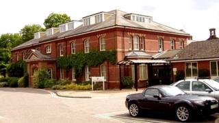 Exterior view of Hellesdon Hospital