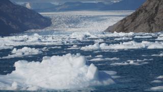 Plutajući led na Grenlandu