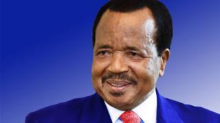 Cameroon President Paul Biya don rule since 6 November 1982.