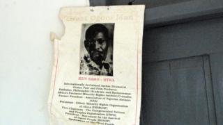 Poster for Ken Saro Wiwa