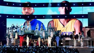 in_pictures Nipsey Hussle tribute