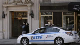 New York police car