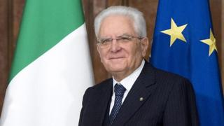 Italian President Sergio Mattarella, 30 Nov 17