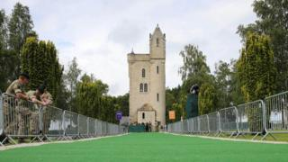 The Ulster Tower in Thiepval