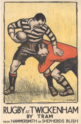 Rugby advert