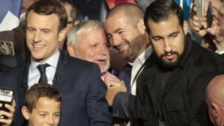 Alexandre Benalla acted as security guard for Emmanuel Macron during his presidential campaign