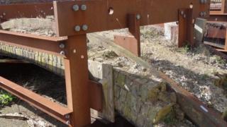 Rediscovered Brunel bridge