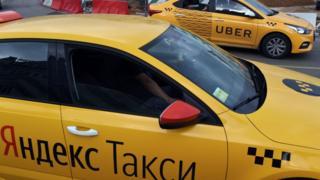 moskvada iki taksi