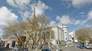 St Nicholas Church holds one of only two public commissions by artist William Hogarth