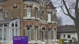 British Pregnancy Advisory Service clinic in Rosslyn Road