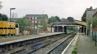 Crowthorne station