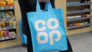 Co-operative Group shopping bag