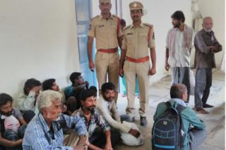 Beggars rounded up in Hyderabad's central jail