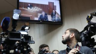 Янукович на екрані