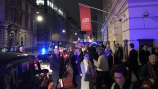 Royal Opera House evacuation