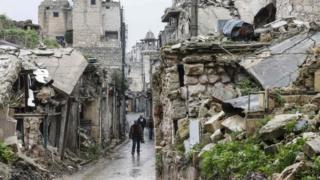 شهر قدیمی حلب
