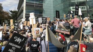 Ipswich protest
