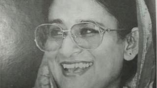 বাংলাদেশের প্রতিষ্ঠাতা রাষ্ট্রপতি শেখ মুজিবুর রহমানের বড় মেয়ে শেখ হাসিনা