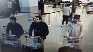 ザベンテム空港の防犯カメラが撮影した容疑者たち